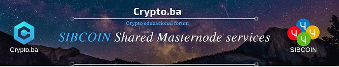 crypto masternodes sib