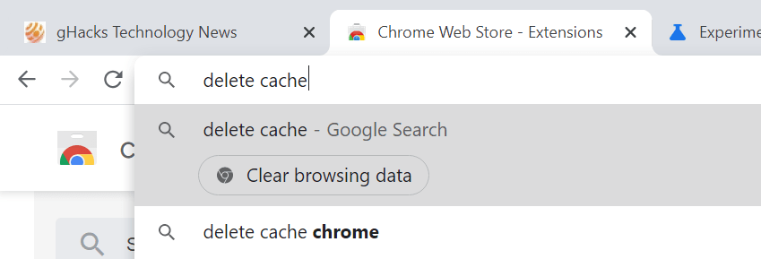 ChromeActions